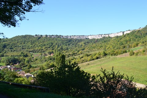st romain cliffs walking trail burgundy